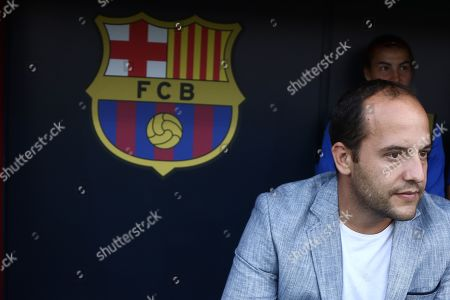 FC Barcelona manager Luis Cortes