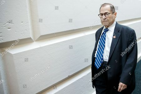 Editorial picture of Democratic caucus meeting, Washington, USA - 25 Sep 2019