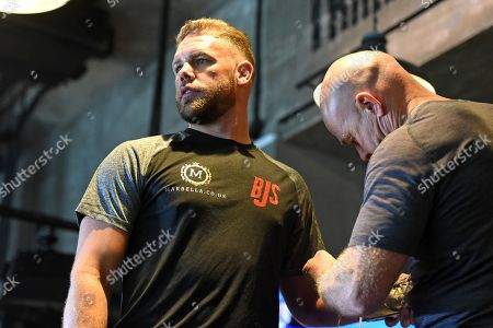 Editorial image of Billy Joe Saunders Media Workout, Boxing, BXR Gym, London, United Kingdom - 25 Sep 2019