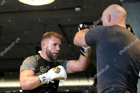 Stock Picture of Billy Joe Saunders during a Media Workout at the BXR Gym on 25th September 2019