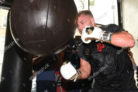 Editorial picture of Billy Joe Saunders Media Workout, Boxing, BXR Gym, London, United Kingdom - 25 Sep 2019