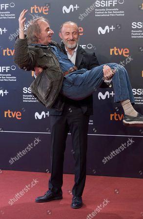 Editorial picture of 'Just Great' film premiere, 67th San Sebastian Film Festival, Spain - 25 Sep 2019