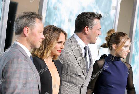 Noah Hawley, Natalie Portman, Jon Hamm and Pearl Amanda Dickson
