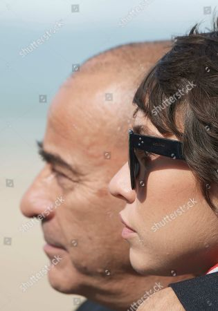 Eduard Fernandez and Greta Fernandez