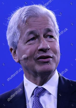 Stock Picture of Jamie Dimon, Chairman and CEO of JPMorgan Chase speaks at the Bloomberg Global Business Forum 2019 at the Plaza Hotel in New York, New York, USA, 25 September 2019. World leaders gathered for the United Nations General Debate this week, and business leaders are gathering for the event, which was organized by Bloomberg Philanthropies, to discuss economic and trade issues, globalization, innovation, and competition.