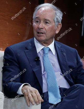 Stephen Schwarzman, co-founder, chairman & CEO of the The Blackstone Group speaks at the Bloomberg Global Business Forum 2019 at the Plaza Hotel in New York, New York, USA, 25 September 2019. World leaders gathered for the United Nations General Debate this week, and business leaders are gathering for the event, which was organized by Bloomberg Philanthropies, to discuss economic and trade issues, globalization, innovation, and competition.