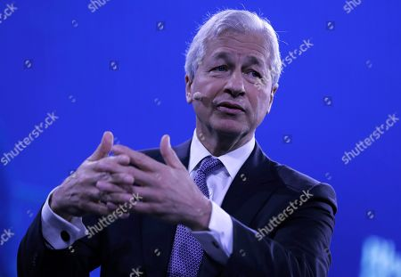 Jamie Dimon, Chairman and CEO of JPMorgan Chase speaks at the Bloomberg Global Business Forum 2019 at the Plaza Hotel in New York, New York, USA, 25 September 2019. World leaders gathered for the United Nations General Debate this week, and business leaders are gathering for the event, which was organized by Bloomberg Philanthropies, to discuss economic and trade issues, globalization, innovation, and competition.