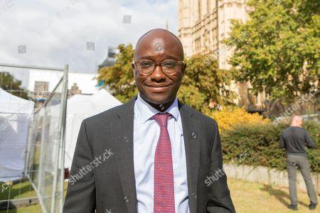 Sam Gyimah, Lib Dem MP for East Surrey on College Green