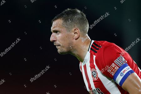Phil Jagielka of Sheffield United during the EFL Cup match between Sheffield United and Sunderland at Bramall Lane, Sheffield