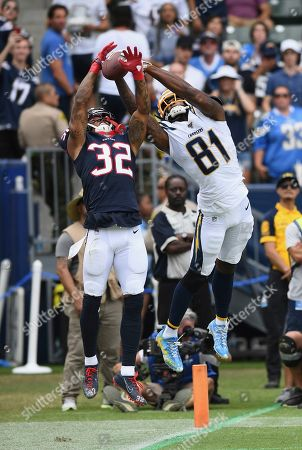 Editorial image of Texans Chargers Football, Carson, USA - 22 Sep 2019