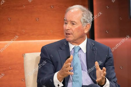 Stephen Schwarzman, Chairman and CEO of The Blackstone Group, speaks at the Bloomberg Global Business Forum, in New York