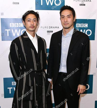 Yosuke Kubozuka and Takehiro Hira