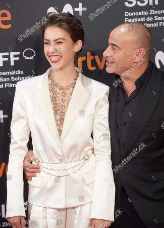Greta Fernandez and Eduard Fernandez