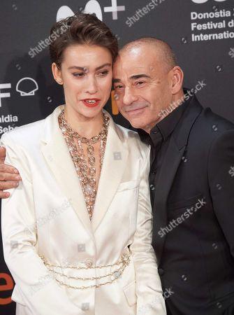 Stock Image of Greta Fernandez and Eduard Fernandez