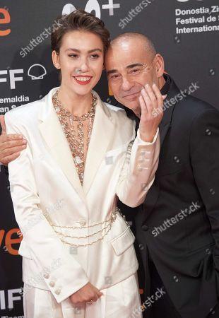 Stock Picture of Greta Fernandez and Eduard Fernandez