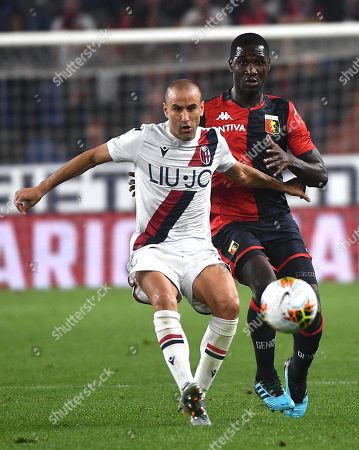 Editorial photo of Genoa vs Bologna, Italy - 25 Sep 2019