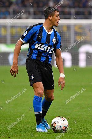 Alexis Sanchez of Inter Milan