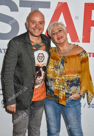 Stock Image of Lincoln Townley and Denise Welch