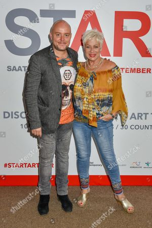 Lincoln Townley and Denise Welch
