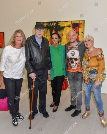 Editorial photo of START Art Fair preview evening, Saatchi Gallery, London, UK - 25 Sep 2019