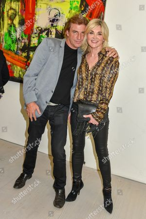 Editorial image of START Art Fair preview evening, Saatchi Gallery, London, UK - 25 Sep 2019