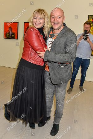 Stock Picture of Kate Thornton and Lincoln Townley