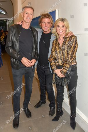 Lee Chapman, Mark Armstrong and Anthea Turner