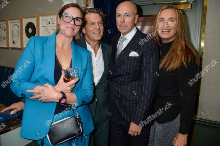 Editorial photo of The Artish Lunch at the Groucho Club, London, UK - 25 Sep 2019