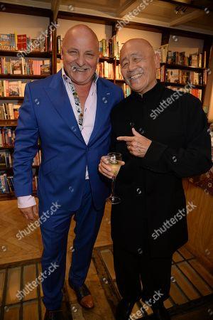 Aldo Zilli and Ken Hom