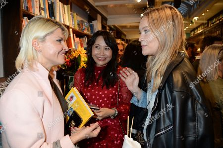 Guest, Ching-He Huang and Laura Whitmore