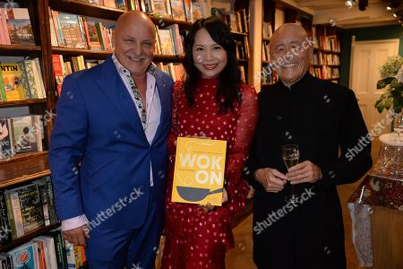 Aldo Zilli, Ching-He Huang and Ken Hom