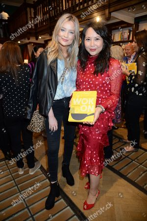 Editorial photo of 'Wok On' by Ching-He Huang book launch, Daunts Books, London, UK - 25 Sep 2019