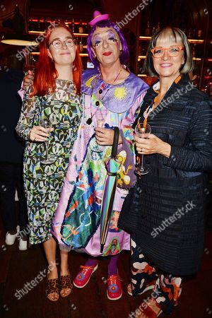 Florence Perry, Grayson Perry and Philippa Perry