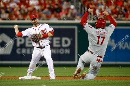 Editorial image of Phillies Nationals Baseball, Washington, USA - 25 Sep 2019