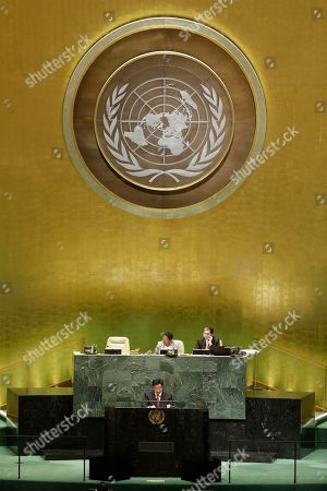 Editorial image of United Nations General Assembly Kuwait - 25 Sep 2019