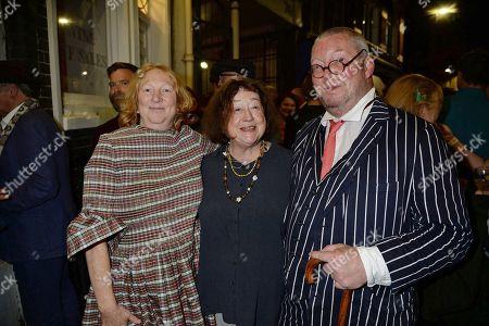 Stock Picture of Margot Henderson, Fay Maschler and Fergus Henderson
