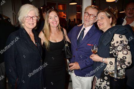 Sophie Conran and Jasper Conran (Centre) and guests