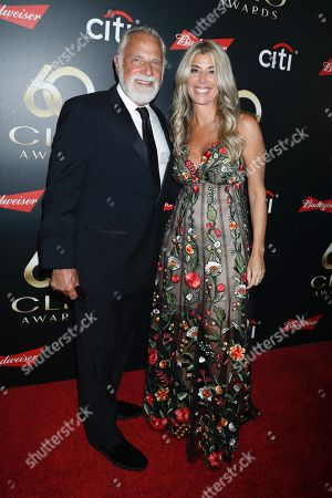 Jonathan Goldsmith and Nicole Purcell