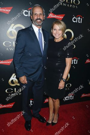 John Molner and Katie Couric