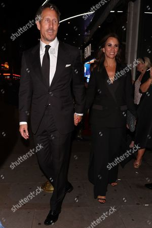 Nick Green and Andrea McLean