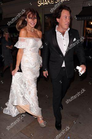 Lizzie Cundy and Jeremy Gordeno