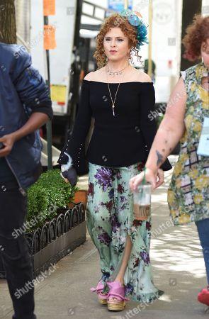 Editorial photo of 'Katy Keene' TV show on set filming, New York, USA - 25 Sep 2019
