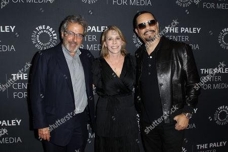 Warren Leight, Julie Martin and Ice-T