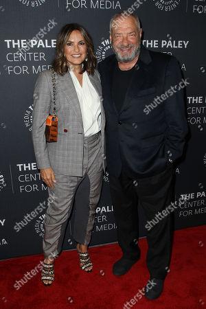 Mariska Hargitay and Dick Wolf