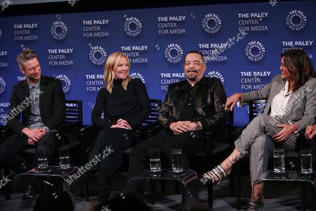 Peter Scanavino, Kelli Giddish, Ice-T and Mariska Hargitay