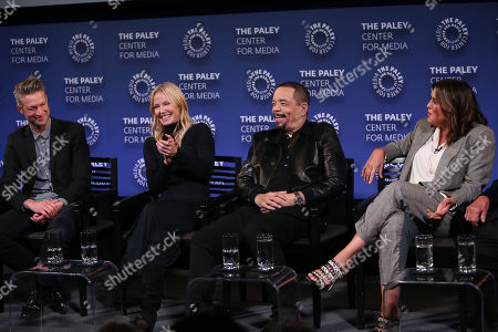 Stock Picture of Peter Scanavino, Kelli Giddish, Ice-T and Mariska Hargitay