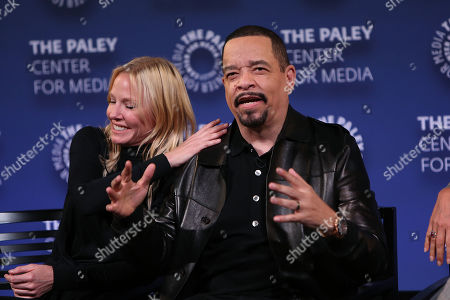 Kelli Giddish and Ice-T