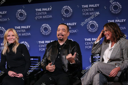 Kelli Giddish, Ice-T and Mariska Hargitay