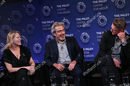 Julie Martin, Warren Leight and Peter Scanavino