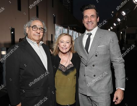 Steve Gilula, Nancy Utley, Jon Hamm